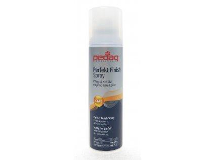 Pedag Perfect Finish Spray - krém na boty ve spreji - péče o hladkou i broušenou kůži pro hedvábný a sametový lesk