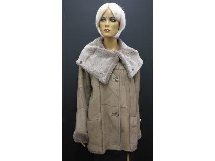 kratší kabátek z pravé beránčí kožešiny Paola
