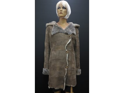Kožešinový kabátek z ovčí kožešiny 6276