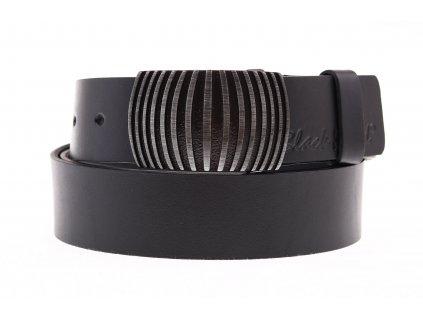 Dámský kožený opasek Black Hand 127-98 černý