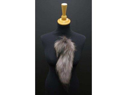 Kožešinový ocas ohon na klobouk