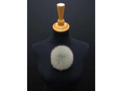 Kožešinová bambule na čepici
