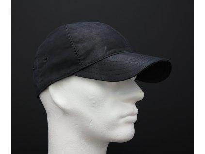 Kožená kšiltovka DHK37 tmavě šedá antracitová
