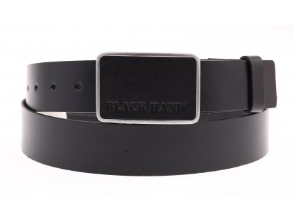 Pánský kožený opasek Black Hand 018-98 černý