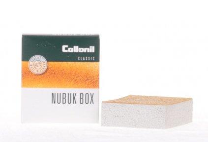 Collonil Nubuk Box čistící gumová kostka s krepou na broušené kůže