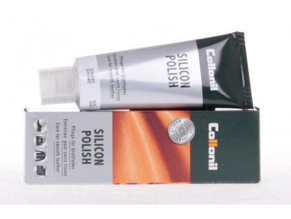 Collonil Silicon Polish 75 ml krém na hladkou kůži - středně hnědý