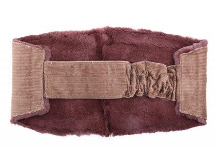 Ledvinový pás kožešinový LP37 velikost M králík