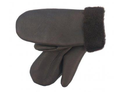 Dámské kožešinové palčáky z ovčiny