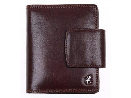 Dámská kožená peněženka Cosset 4404 Komodo hnědá