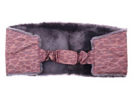 Ledvinový pás kožešinový z ovčiny velikost  120 - 140 cm LP106