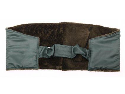 Ledvinový pás kožešinový z ovčiny velikost  120 - 140 cm LP108
