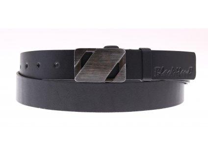 Dámský kožený opasek Black Hand 110-98 černý