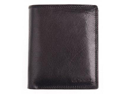 Pánská kožená peněženka Cosset 4402 Vitto černá
