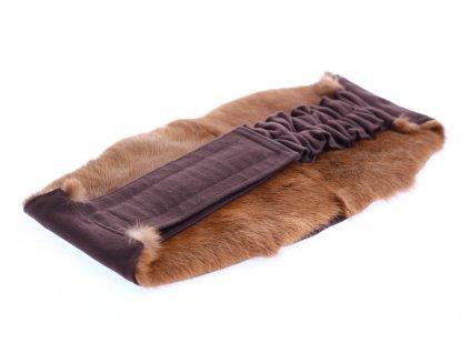 Ledvinový pás kožešinový LP112 velikost L králík