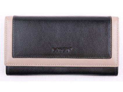 Dámská kožená peněženka Lagen 1841 černá