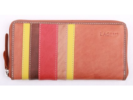Dámská  kožená peněženka Lagen 26513 multicolor