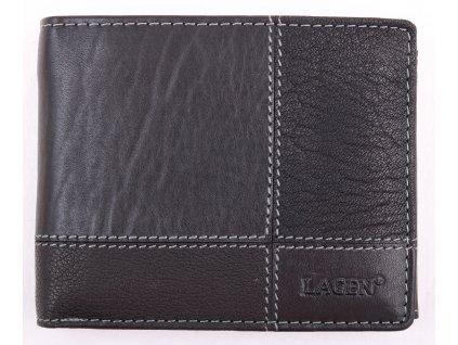 Pánská kožená peněženka Lagen 2108T černá