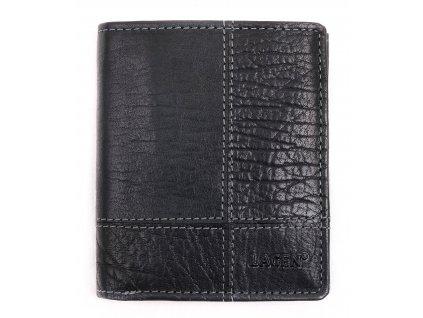 Pánská kožená peněženka Lagen V28 T Black