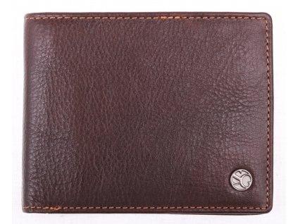 Pánská kožená peněženka Segali 907114026 hnědá