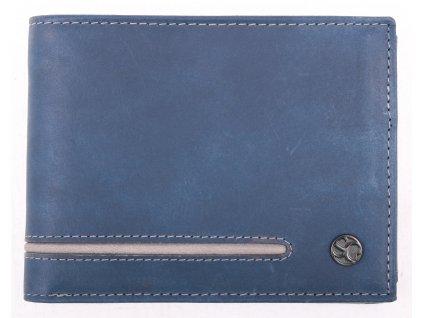 Pánská kožená peněženka Segali 730115004 Blue