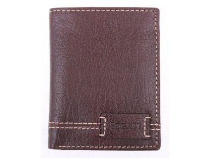Pánská kožená peněženka Segali W70082 hnědá