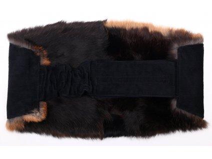 Ledvinový pás kožešinový LP46 velikost M králík