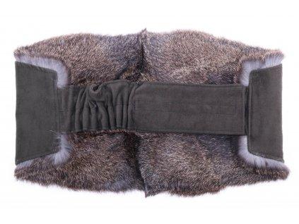 Ledvinový pás kožešinový LP43 velikost M králík