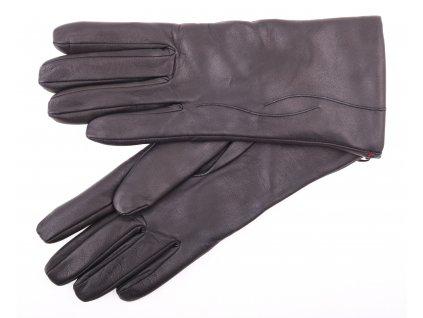 Dámské kožené rukavice 4162 černé