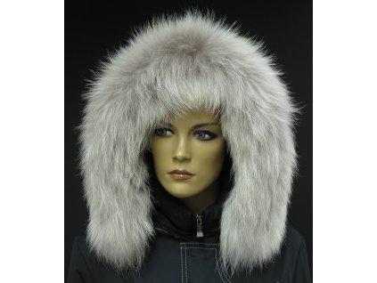 Kožešinový lem / límec na kapuci z finského mývalovce  4066 ARKTIK