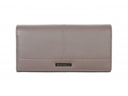 Dámská kožená peněženka Segali 2249 šedá