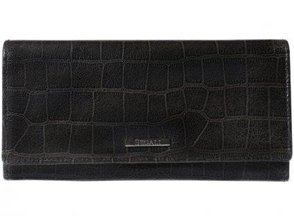 Dámská kožená peněženka Segali SG7011 tmavě šedá