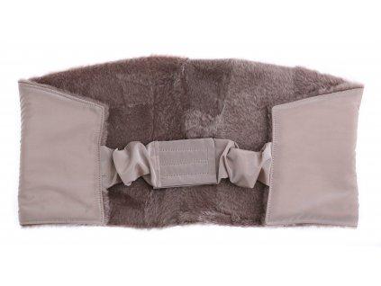 Ledvinový pás kožešinový LP118 velikost 100 - 120 cm ovčina