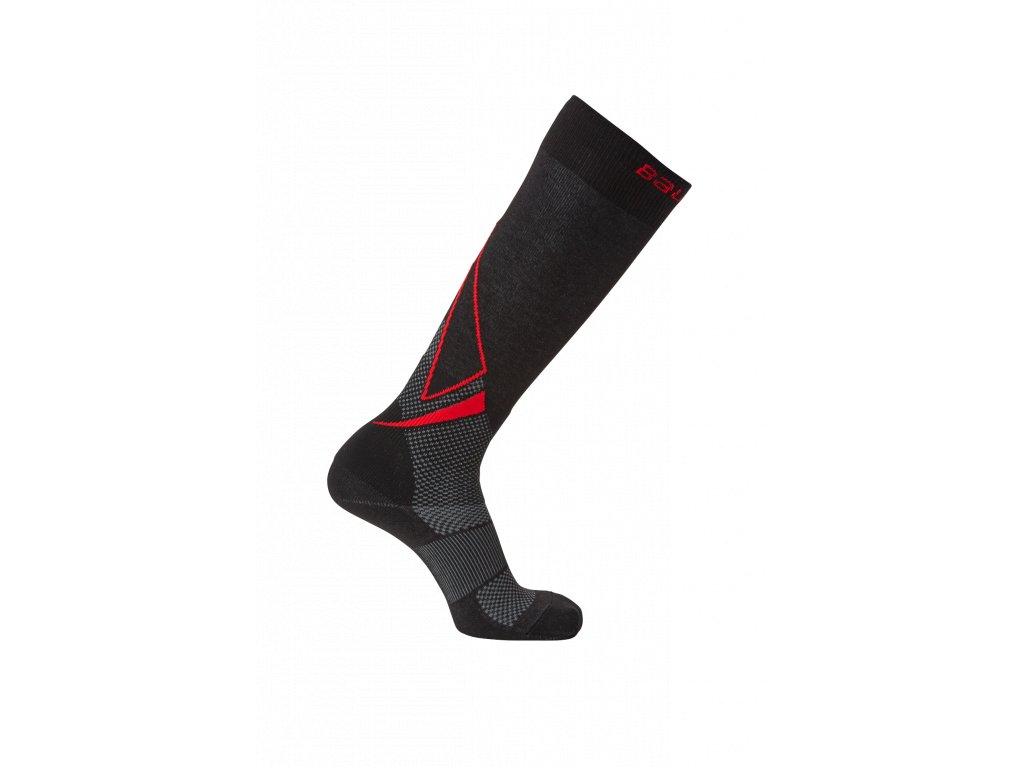 Ponožky BAUER S19 PRO TALL SKATE SOCK - BLK