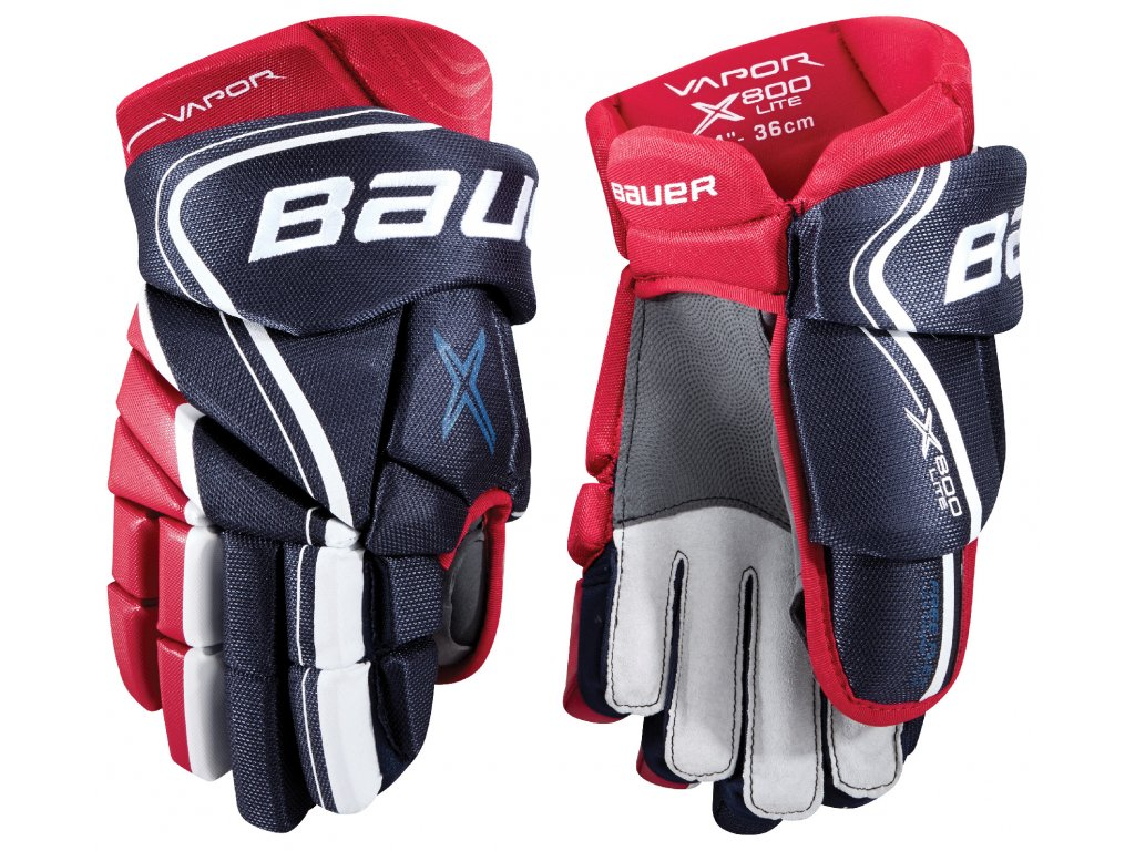 Rukavice BAUER S18 VAPOR X800 LITE GLOVES - JR