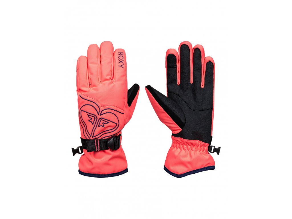 ROXY POPPY GLOVES rukavice neon