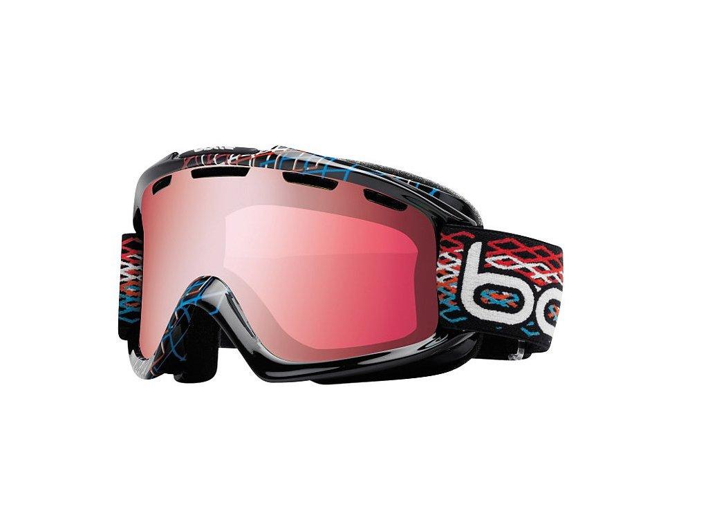 Brýle lyžařské BOLLÉ NOVA black diamond vermillion gun