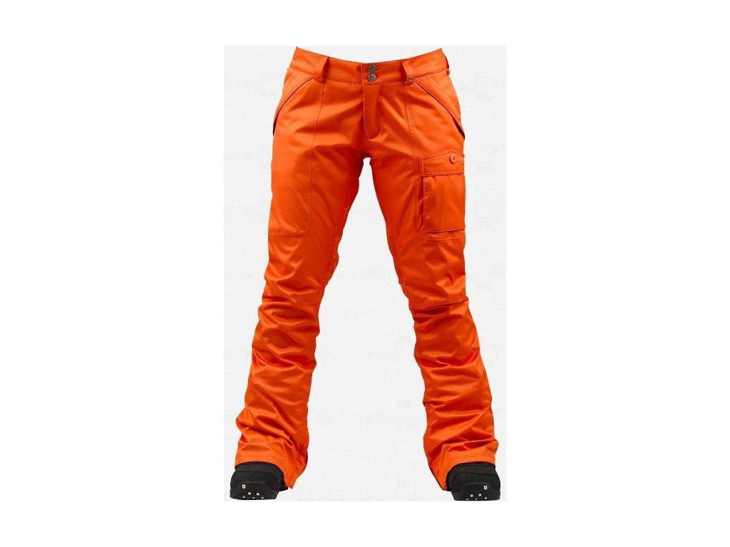 Kalhoty snb BURTON INDULGENCE W orange S