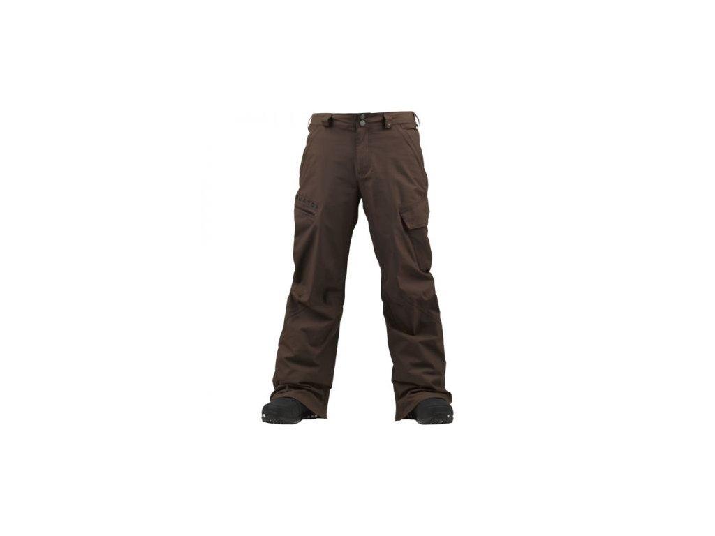 Kalhoty snb BURTON - POACHER mens hnědá
