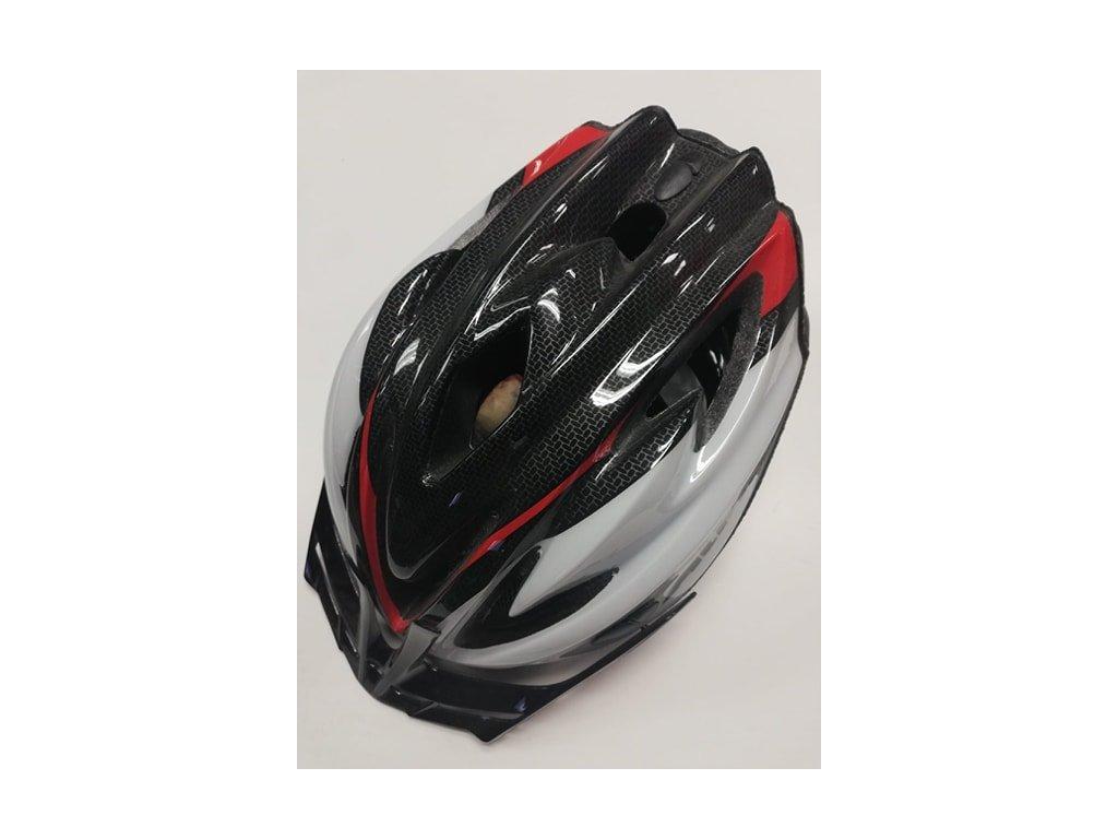 Helma cyklist. ALPINA STAMP karbon /červená
