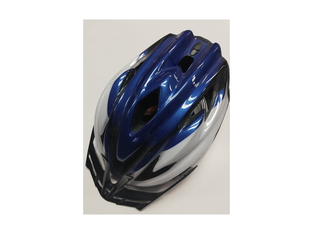 Helma cyklist. ALPINA STAMP modrá/černá