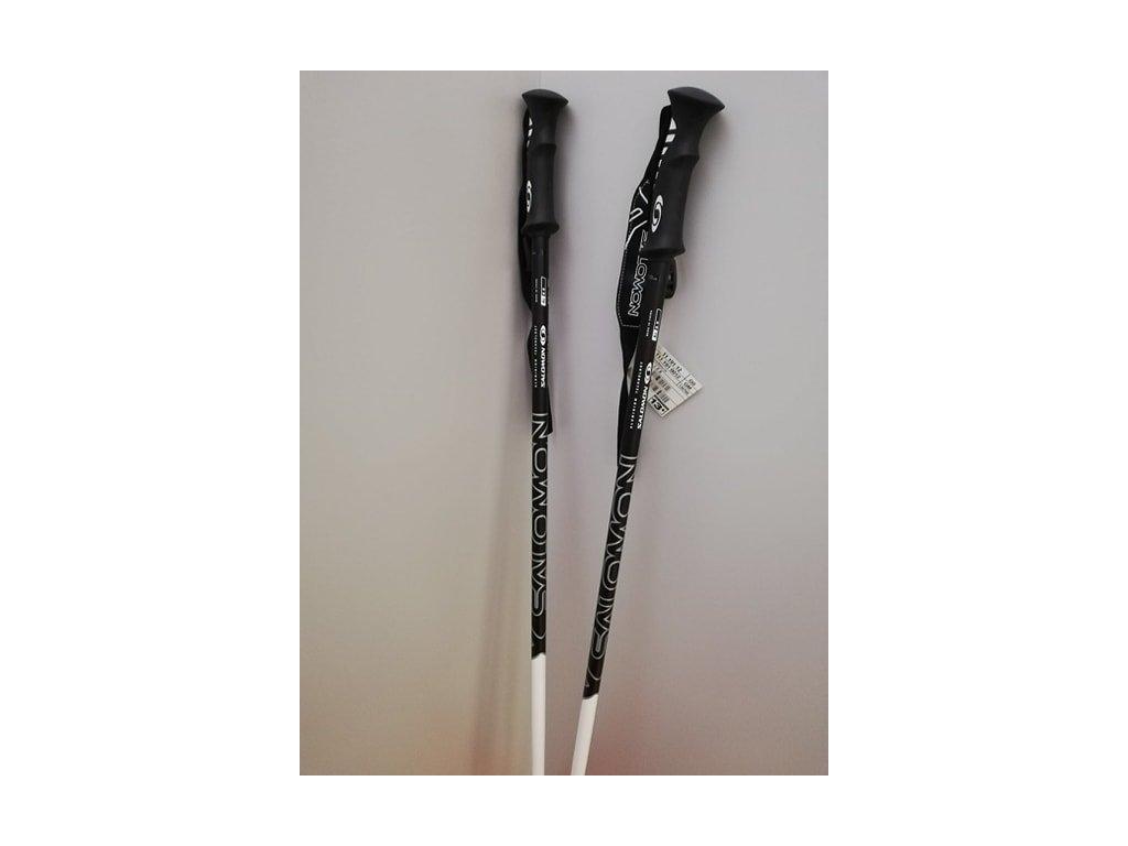 Lyžařská hůl SALOMON X-W černá/bílá