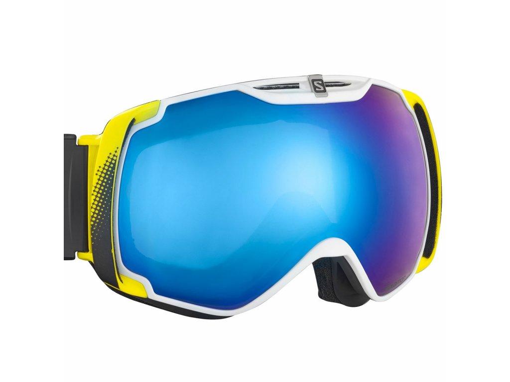 Brýle lyžařské SALOMON XTEND white/ML Blue Solar