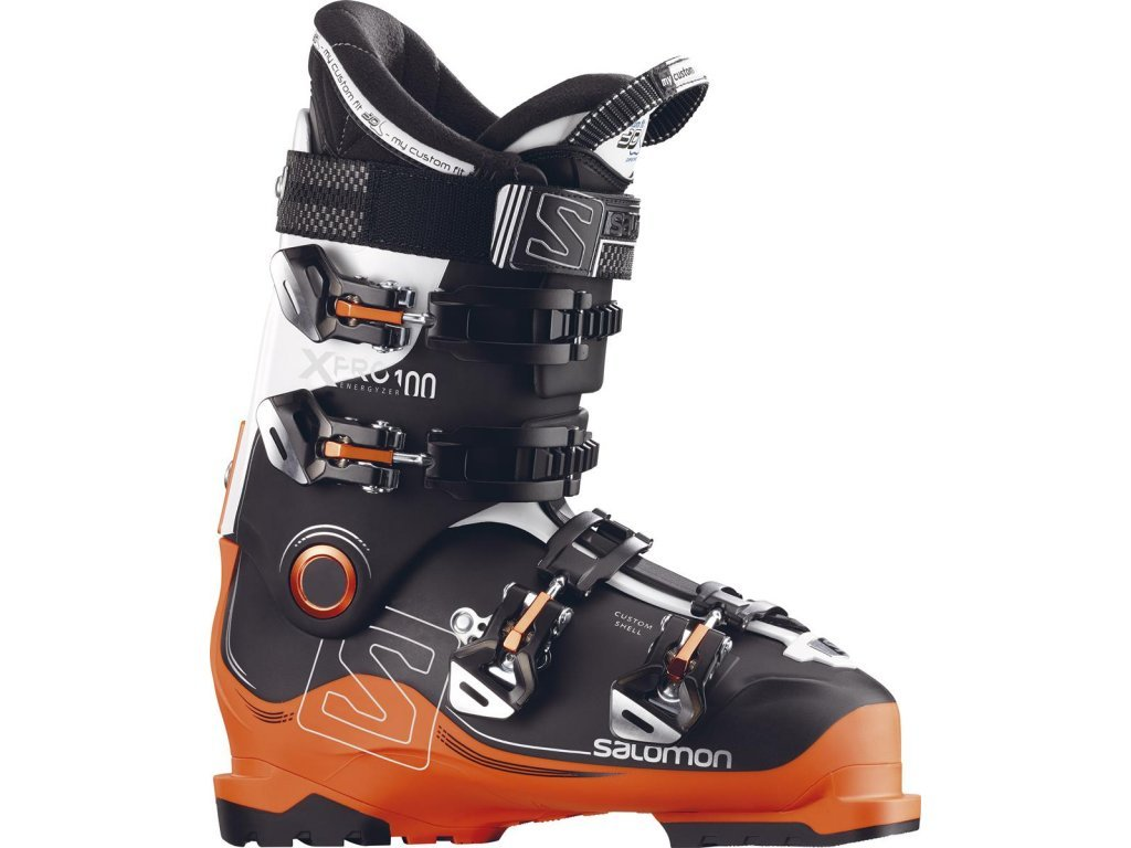 SALOMON X PRO 100 black/orange/white - 16/17