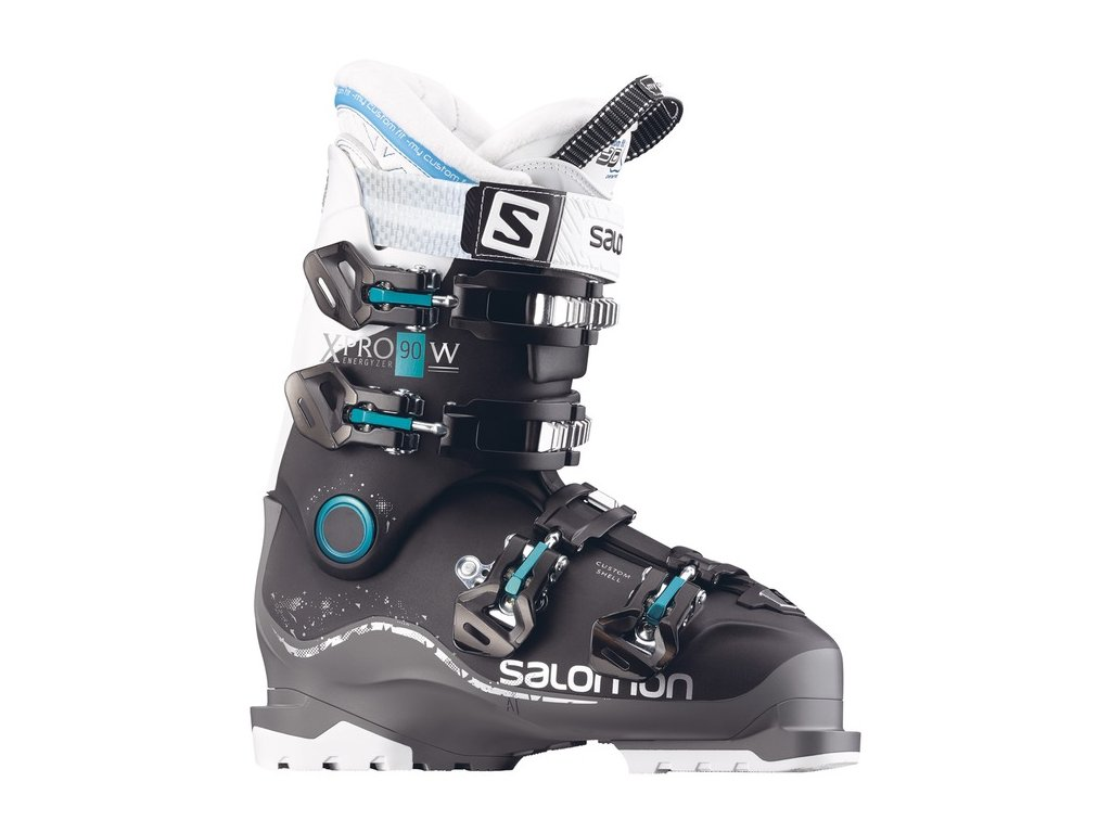 SALOMON X PRO 90 W black/anthracite/white - 17/18