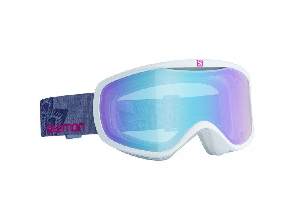 Brýle lyžařské SALOMON SENSE White art/LoLightL.Blue