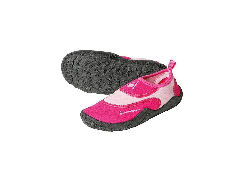Boty AQUA SPHERE BEACHWALKER KIDS pink/rosa
