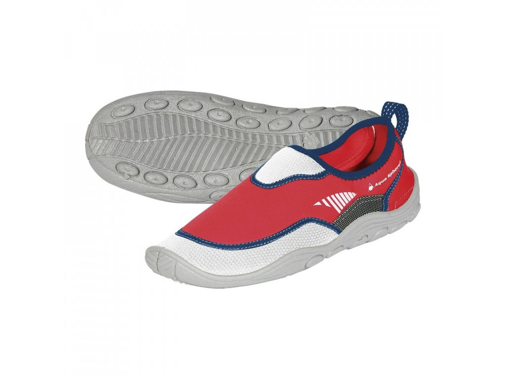 Boty AQUA SPHERE BEACHWALKER RS white/red