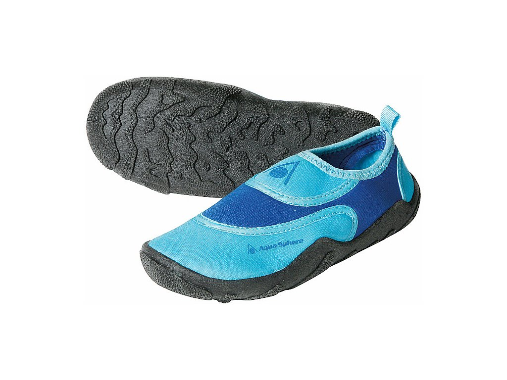 Boty AQUA SPHERE BEACHWALKER KIDS blue/light blue