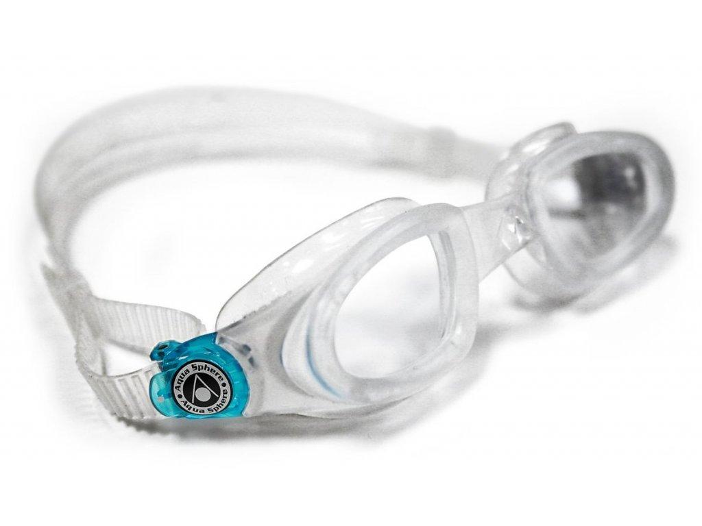Plavec. brýle AQUA SPHERE MAKO trasparent, transparent/aqua