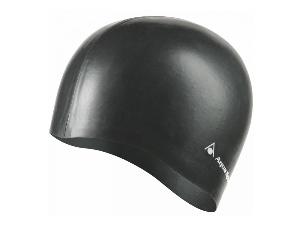 Koupací čepice AQUA SPHERE CLASSIC SILICONE black